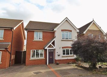 Thumbnail 4 bed detached house for sale in Sage Close, Biggleswade