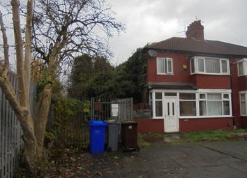 Thumbnail 3 bed semi-detached house for sale in Slade Hall Road, Manchester