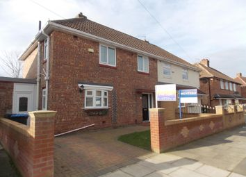 Thumbnail 3 bedroom semi-detached house for sale in Kentmere Road, Middlesbrough