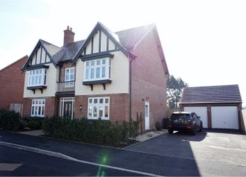 Thumbnail 5 bed detached house for sale in Stones Close, Ravenstone