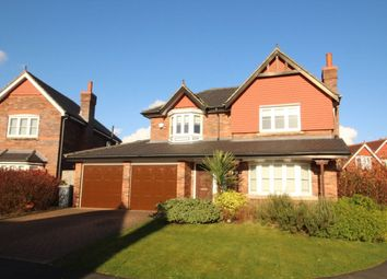 Thumbnail 4 bed detached house to rent in Hendon Close, Wilmslow