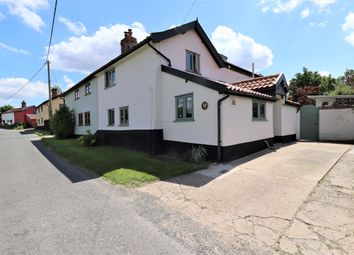 Thumbnail 3 bed cottage for sale in Hill Road, Tibenham, Norwich