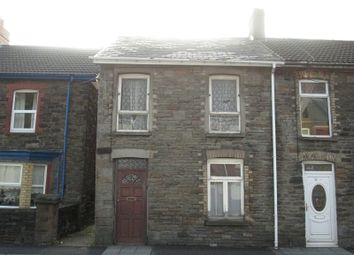 Thumbnail 3 bed end terrace house for sale in Risca Road, Cross Keys, Newport.