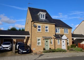 Thumbnail 3 bed semi-detached house for sale in Powis Lane, Oxley Park, Milton Keynes