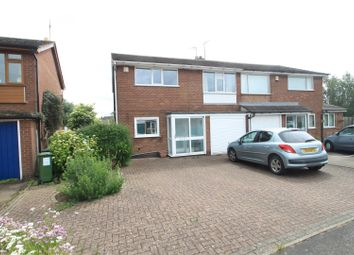 Thumbnail 4 bed semi-detached house for sale in Morley Road, Sapcote, Leicester