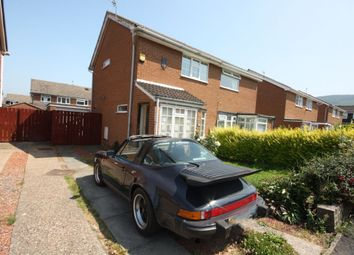 Thumbnail 2 bed semi-detached house for sale in Meath Way, Guisborough