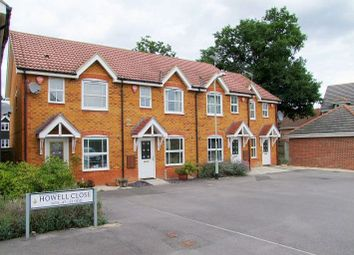 Thumbnail 2 bedroom terraced house to rent in Howell Close, Arborfield, Reading