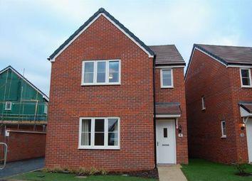 Thumbnail 3 bed detached house to rent in Garner Close, Harlestone, Northampton