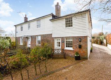 Thumbnail 2 bedroom cottage to rent in Sophurst Lane, Matfield, Tonbridge