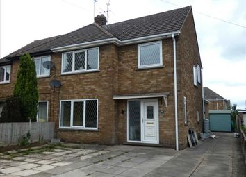 Thumbnail 3 bedroom semi-detached house to rent in Springfield Close, Scunthorpe