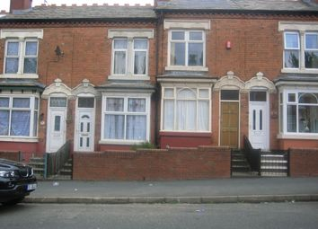 Thumbnail 2 bedroom terraced house to rent in Shenstone Road, Edgbaston, Birmingham