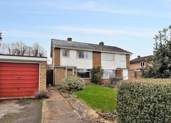Thumbnail 3 bed semi-detached house for sale in Thodays Close, Willingham, Cambridge