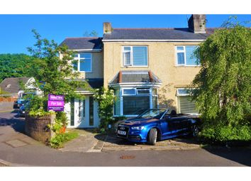 Thumbnail 4 bed semi-detached house for sale in Glen Road, Neath