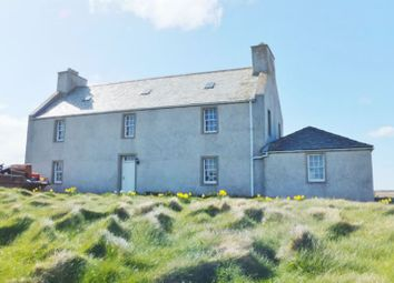 Thumbnail 3 bed detached house for sale in The Haa, Gloup, Yell, Shetland ZE29Dd