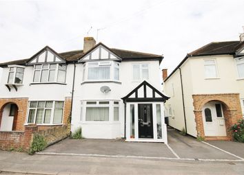 Thumbnail 3 bedroom semi-detached house for sale in Crown Street, Egham, Surrey