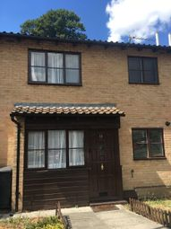 Thumbnail 1 bed terraced house to rent in Fernleigh Close, Waddon, Croydon