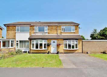 Thumbnail Semi-detached house for sale in Lime Drive, Syston, Leicestershire