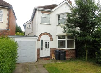 Thumbnail 3 bed semi-detached house to rent in Bushmore Road, Hall Green, Birmingham