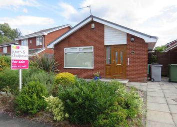 Thumbnail 3 bed detached bungalow for sale in Beauworth Avenue, Greasby, Wirral