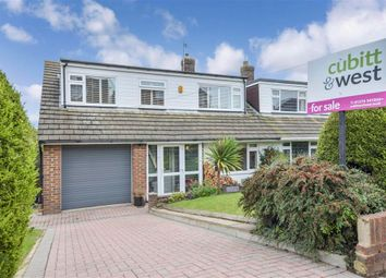 Thumbnail 4 bed semi-detached house for sale in Eldred Avenue, Brighton, East Sussex