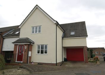 Thumbnail 3 bedroom detached house to rent in Bee-Orchid Way, Rockland St. Mary, Norwich