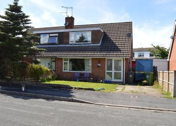 Thumbnail 3 bed semi-detached house to rent in Elm Drive, Market Drayton