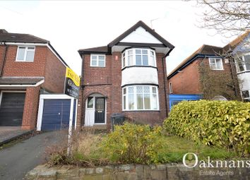 Thumbnail 3 bedroom detached house for sale in Langleys Road, Birmingham, West Midlands.