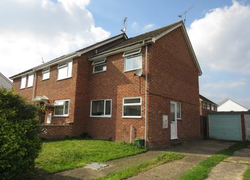 Thumbnail 2 bed end terrace house for sale in Benbow Road, Thetford