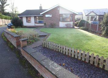 Thumbnail 3 bed detached bungalow for sale in Hillock Lane, Woolston, Warrington, Cheshire