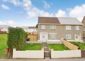 3 bed semi-detached house for sale in Bryn Deri, Ebbw Vale, Gwent, Blaenau Gwent NP23