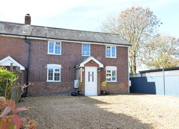 Wootton Road, Tiptoe, Lymington SO41. 3 bed semi-detached house for sale