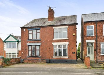 Thumbnail 3 bed semi-detached house for sale in Crosshill, Codnor, Ripley