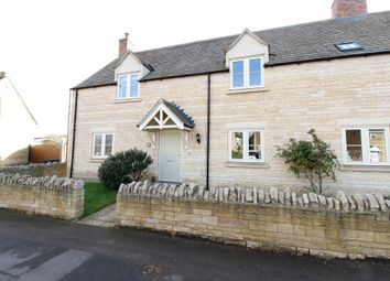 Thumbnail 4 bed semi-detached house for sale in High Street, Maxey, Peterborough