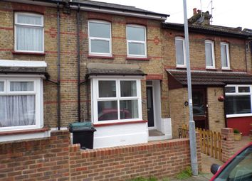 Thumbnail 3 bed terraced house to rent in Churchill Road, Northfleet, Gravesend