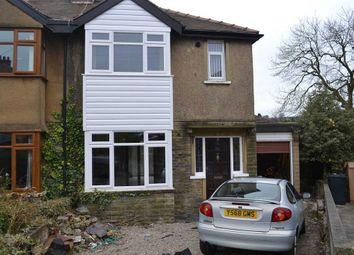 Thumbnail 3 bedroom semi-detached house for sale in Leaventhorpe Grove, Thornton, Bradford