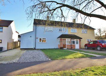 Thumbnail 3 bed semi-detached house for sale in Oakridge Road, Basingstoke