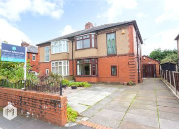 Thumbnail 4 bed semi-detached house for sale in Lakeside Avenue, Bolton, Greater Manchester