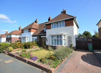 Thumbnail 4 bed semi-detached house for sale in Surrenden Road, Cheriton, Folkestone