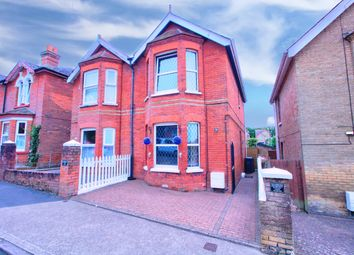 Thumbnail 3 bed semi-detached house for sale in Oakfield Road, East Cowes