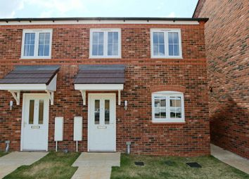 Thumbnail 3 bed end terrace house for sale in Cotton Close, Marbury Meadows, Nantwich