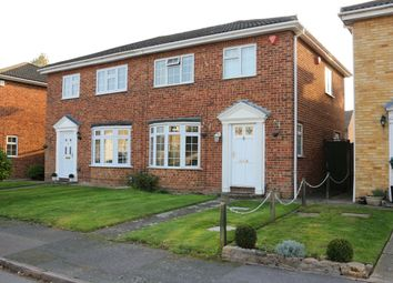 Thumbnail 3 bed semi-detached house to rent in Farm Close, Byfleet, West Byfleet