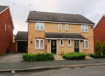 Thumbnail 3 bed semi-detached house for sale in Swan Meadow, Chase Meadow Square, Warwick