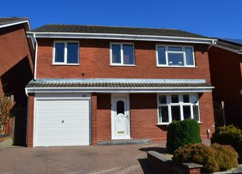 Thumbnail 4 bed detached house for sale in Norwich Close, Lichfield