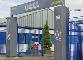 Thumbnail Light industrial to let in 100 Borron Street, Glasgow