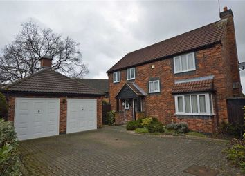Thumbnail 4 bed detached house for sale in Sorrel Road, Hamilton, Leicester