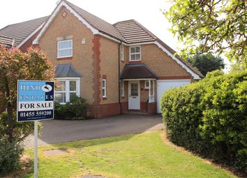 Thumbnail 4 bed detached house for sale in Robinia Close, Lutterworth