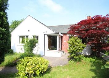 Thumbnail 4 bed bungalow for sale in Hillside Road, Mansewood, Glasgow