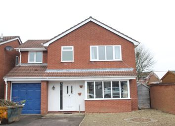 Thumbnail 4 bedroom detached house to rent in Repington Avenue, Atherstone, Warwickshire