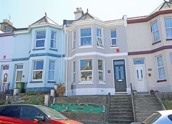 Thumbnail 4 bed terraced house for sale in St Georges Terrace, Stoke, Plymouth