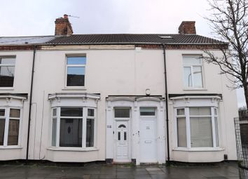Thumbnail 3 bed terraced house to rent in St. Cuthberts Road, Stockton-On-Tees